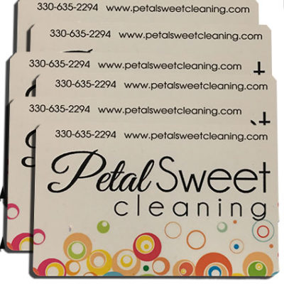 PetalSweet cleaning gift cards