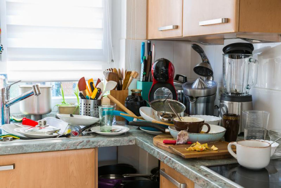 3 Biggest Consequences of a Messy Kitchen
