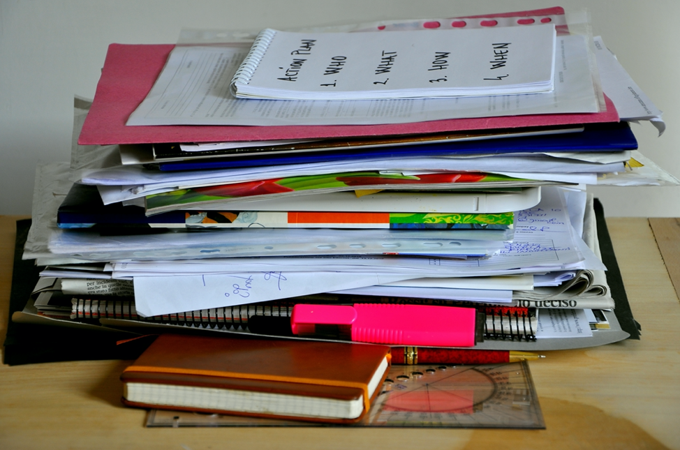 Organize the Clutter—How to Sort and Organize Important Papers and Mail